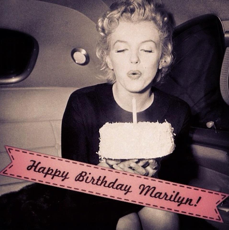 Blonde&Red: Happy Birthday Marilyn