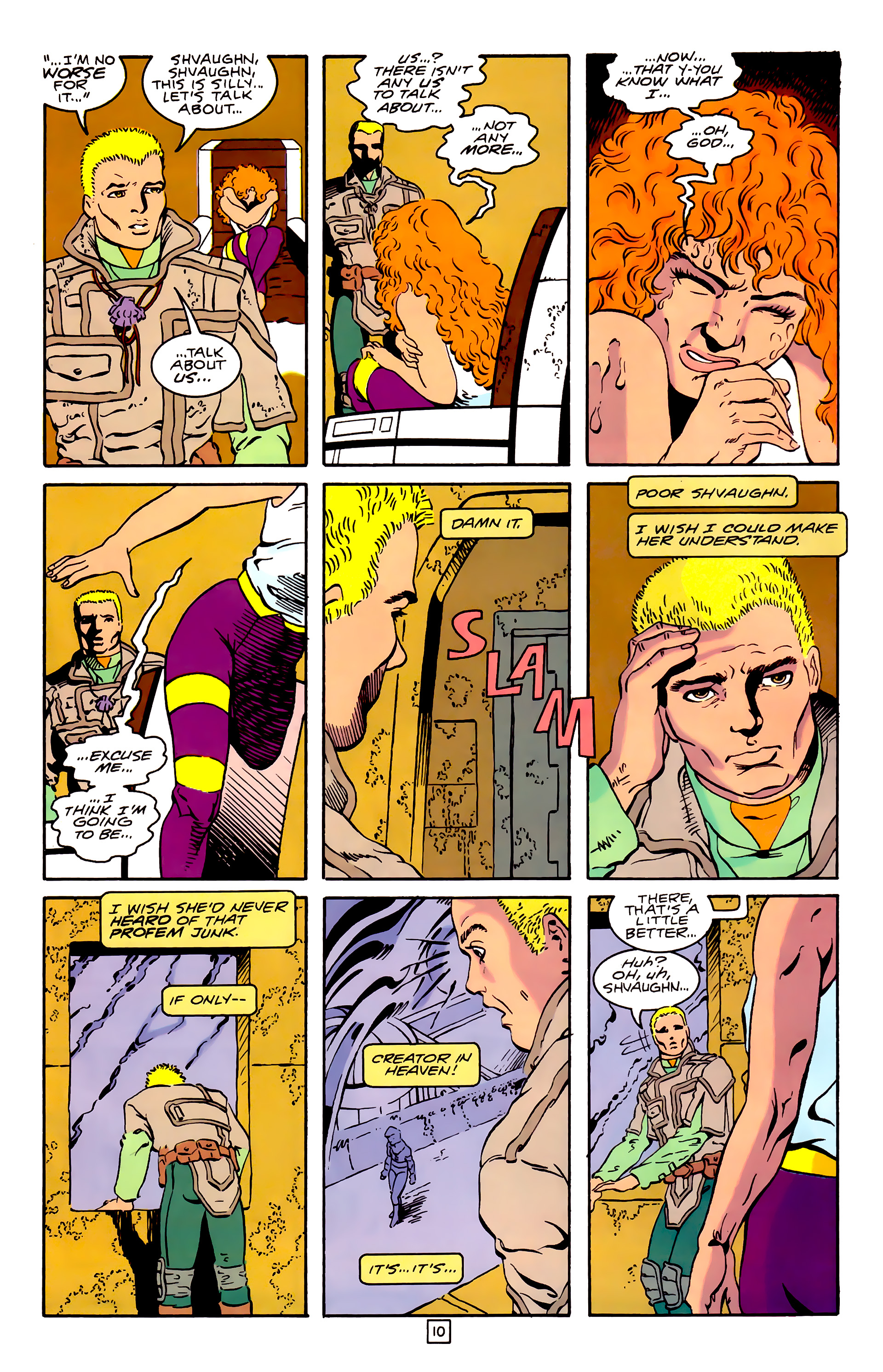 Legion of Super-Heroes (1989) 31 Page 10
