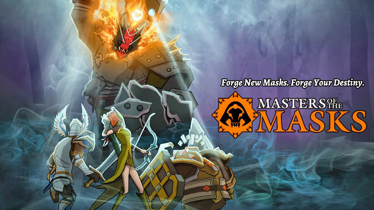 Masters of The Masks, The New Square Enix for Android Is a Turn-Based Battles Game
