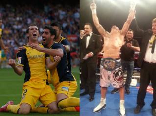 Atlético de Madrid boxeo
