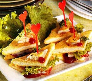 Resep Sandwich Goreng Spesial