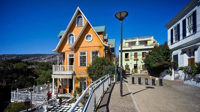 Visitar o Cerro Concepción em Valparaíso