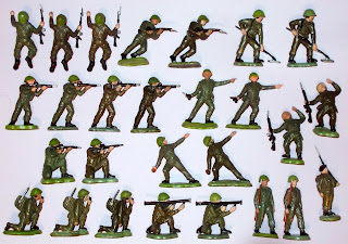 Britains Herald; Britains Herald Khaki Infantry; Britains Khaki Infantry; British Infantry; Herald Hong Kong; Herald Khaki Infantry; Hong Kong; Khaki Infantry; Made in Hong Kong; Old Plastic Toy Soldiers; Old Plastic Toys; Old Toy Soldiers; Small Scale World; smallscaleworld.blogspot.com; Vintage Britains Soldiers; Vintage Plastic Figures; Vintage Plastic Soldiers; Vintage Speedwell Soldiers; Vintage Toy Figures; Vintage Toy Soldiers; Vintage Toys; Vintage Trojan Soldiers;