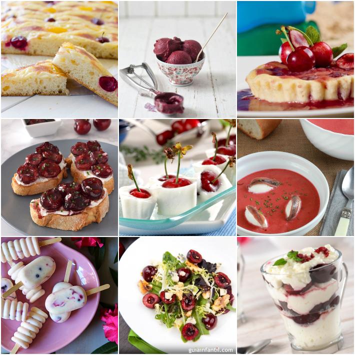 9 recetas con cerezas