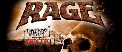 Concierto de RAGE en Bogotá Poster 1