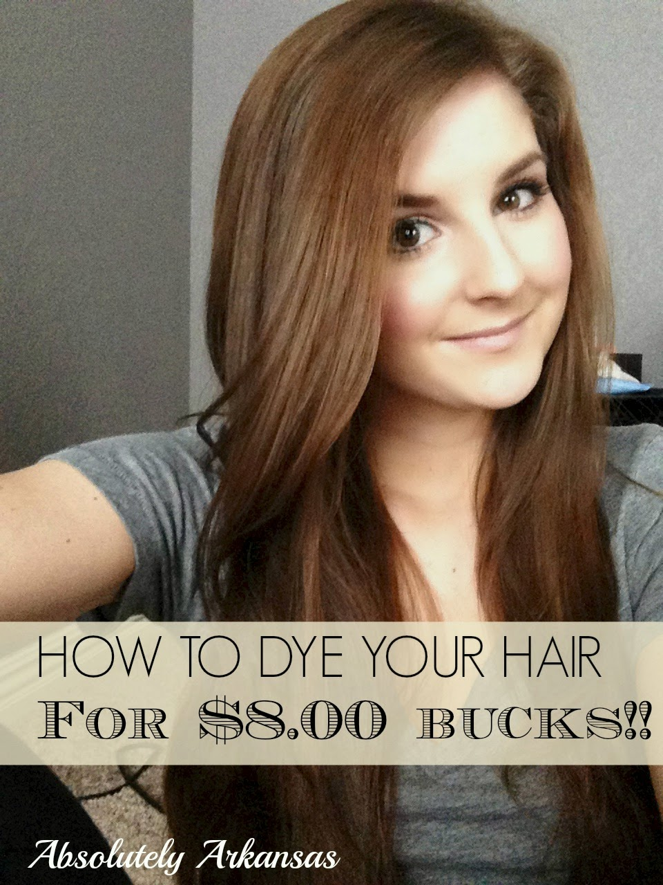 Dying Your Own Hair At Home For Eight Bucks