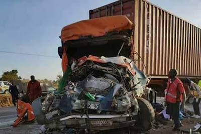 Black Sunday: At least 36 people killed, 18 injured after bus collides with truck on highway in Kenya
