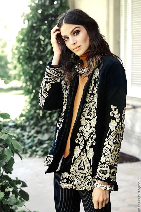 Moda mujer invierno 2017 ropa de moda 2017 sacos.