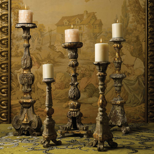 Wood Candlesticks For Crafts