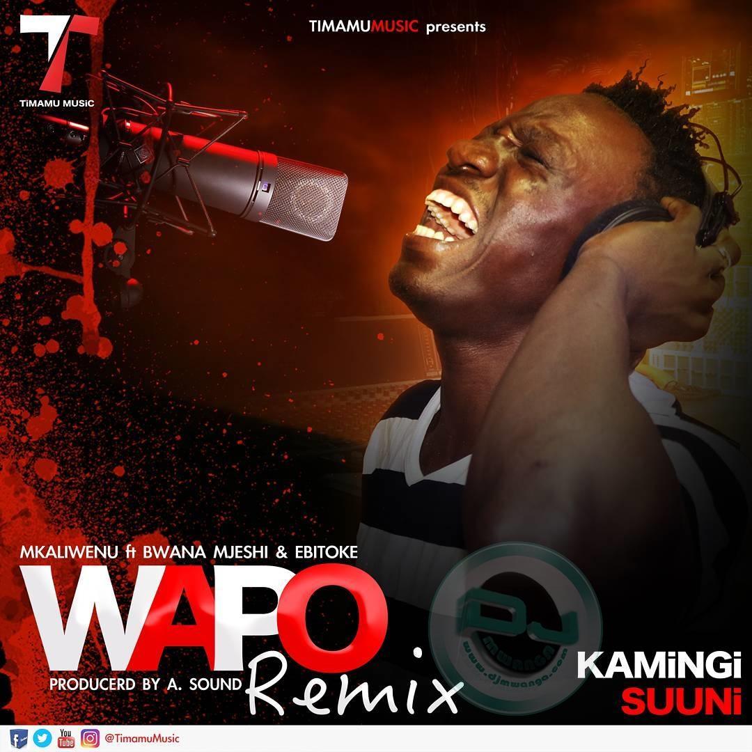 Iam A Rider Dj Mix Song Mp3: Mkaliwenu Ft. Bwana Mjeshi & Ebitoke - WAPO REMIX
