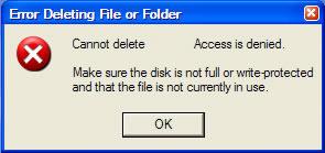 حذف ملفات