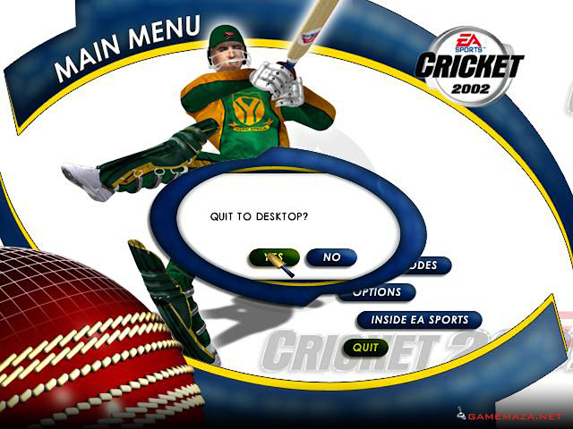 EA Sports Cricket 2002 Gameplay Screenshot 1