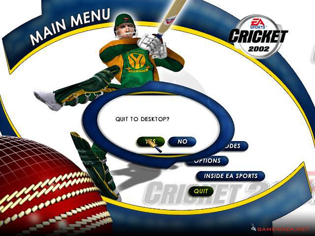 EA Sports Cricket 2002 Gameplay Screenshot 1