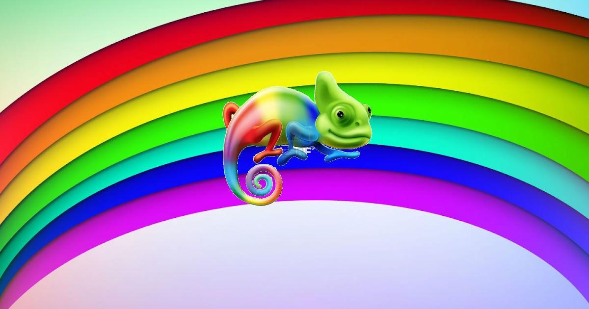 Cuentos para ni os el arco iris y el camale n - Para ninos infantiles ...