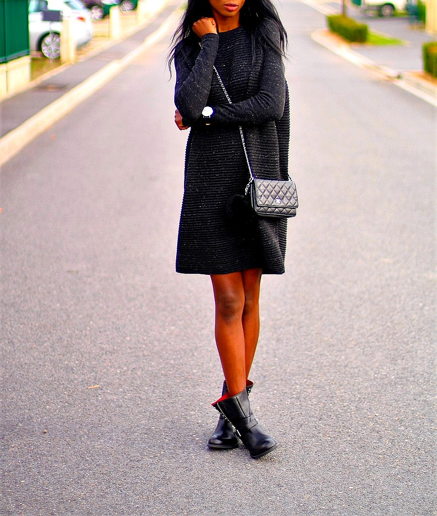 how-to-style-knit-dress-for-autumn