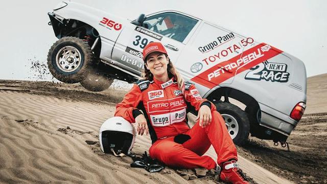 Fernanda Kanno, Rally Dakar