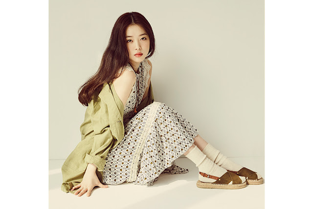 Steal Her Look: Sulli's Retro Summer Look