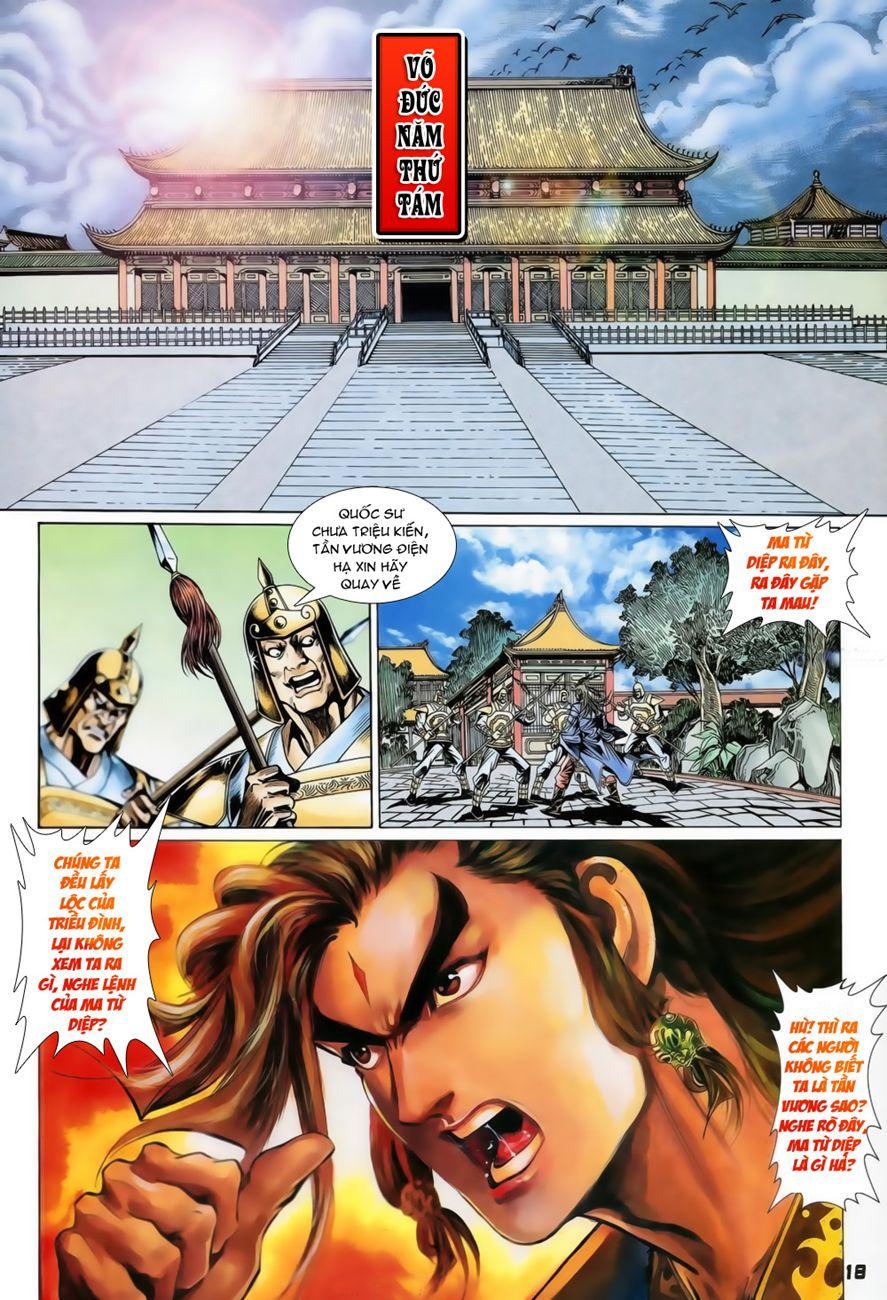 Đại Đường Uy Long chapter 73 trang 18