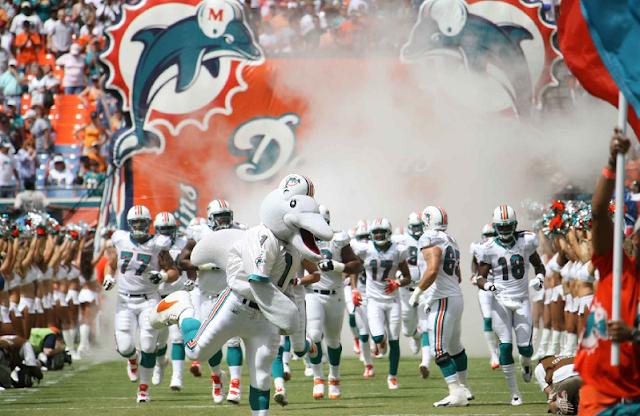 Ingressos do Miami Dolphins e NFL
