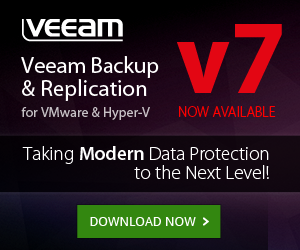 Veeam Backup & Replication v7 - Available for Download