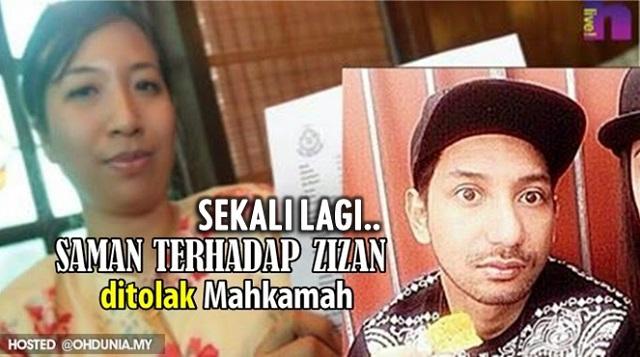 Sekali Lagi Mahkamah Tolak Saman Marina Juki Terhadap Zizan Razak