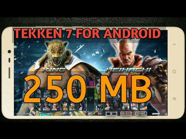 ⬆⬆Download tekken 7 game forealise android apk+data