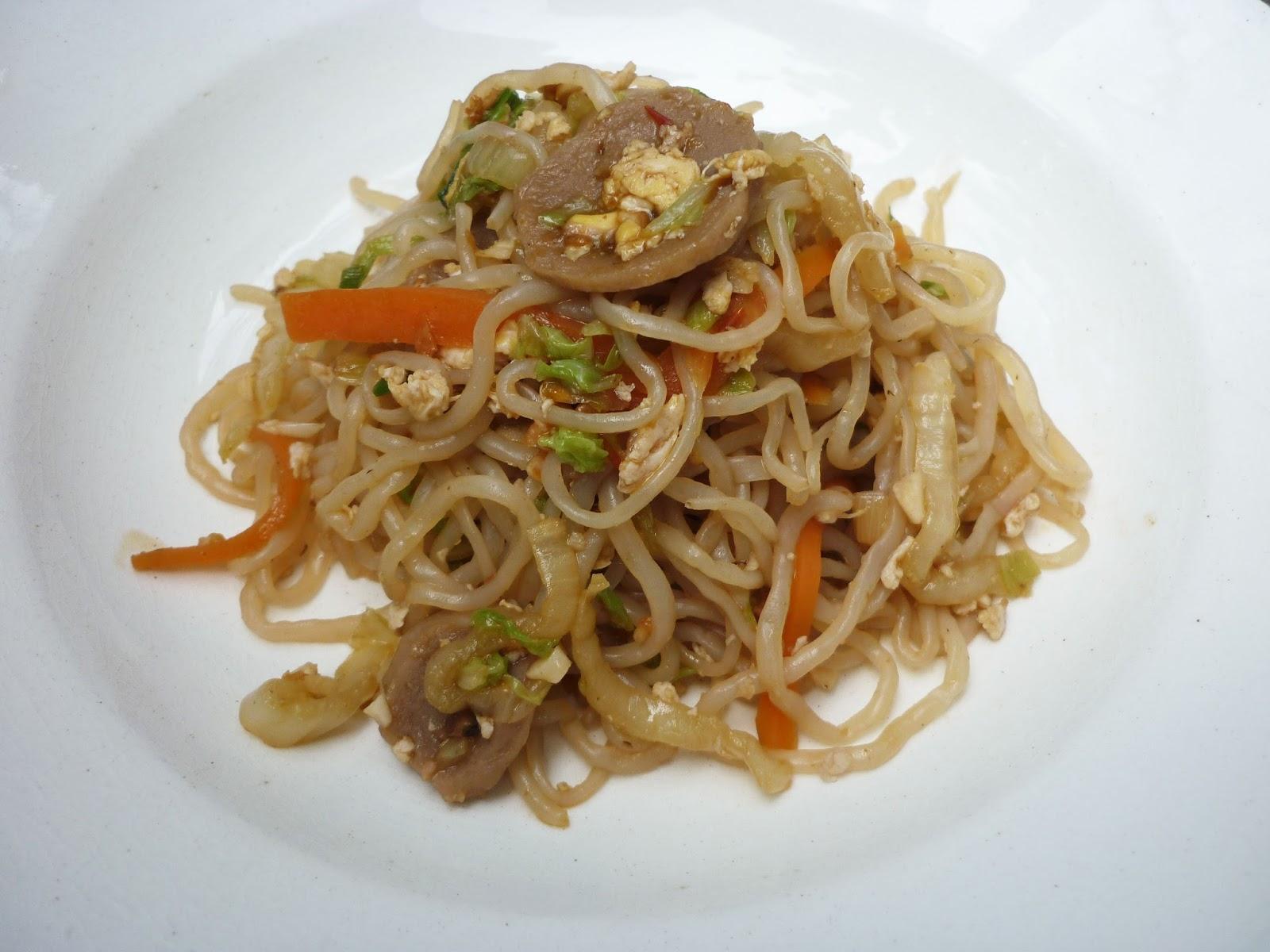 Mys Blog Resep Shirataki Noodles Mie Rendah Kalori Basah