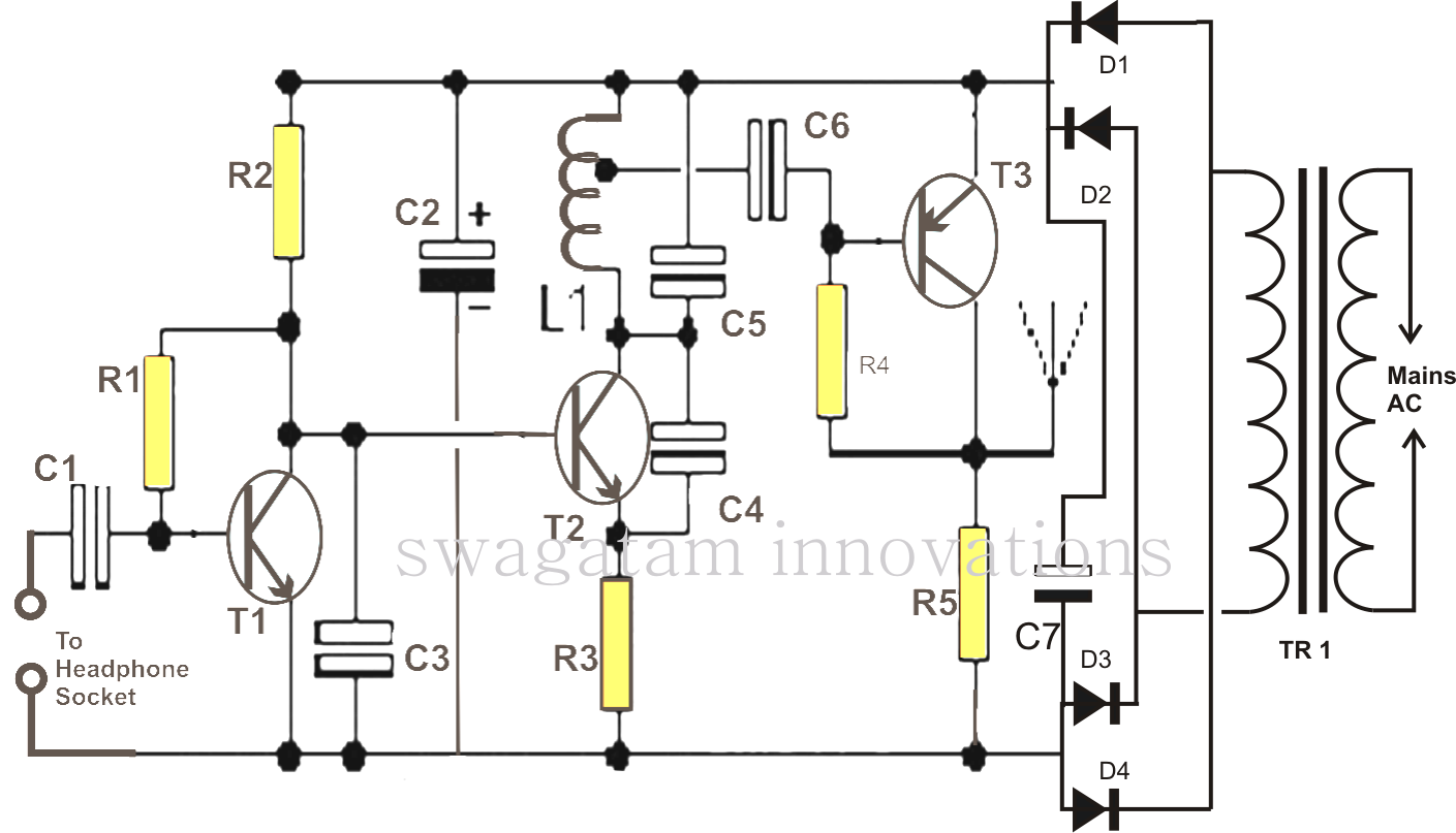 Radio Station Circuit Diagram