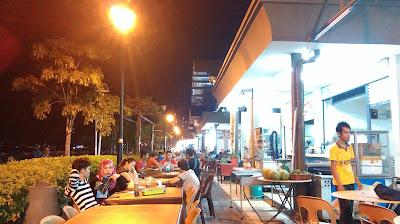 Makan Best Anjung Senja Kota Kinabalu Sabah