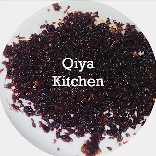 Resepi, Masakan tradisional, masakan Melayu, Sambal Hitam, Belimbing buluh, Qiya Saad