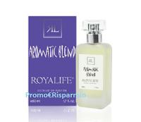 Logo Concorso Royalife : vinci gratis il profumo Aromatic Blend