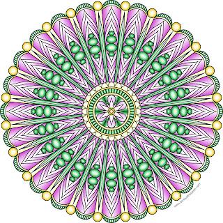 Free printable mandala to color