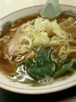 Soy Sauce Flavor Ramen Noodle Soup