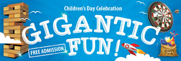 Fun things to do with the kids this Children's Day weekend!