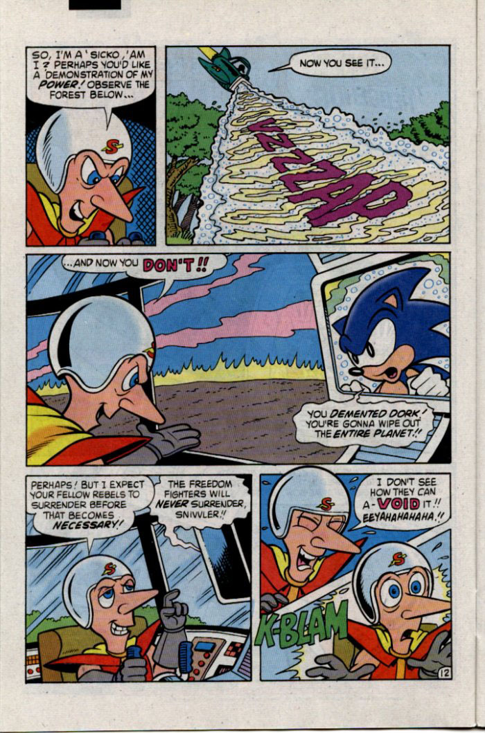 Read online Sonic The Hedgehog comic -  Issue #30 - 13