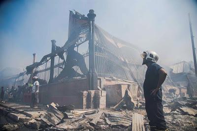 HAITI: Un incendio destruye otro mercado en Puerto Príncipe