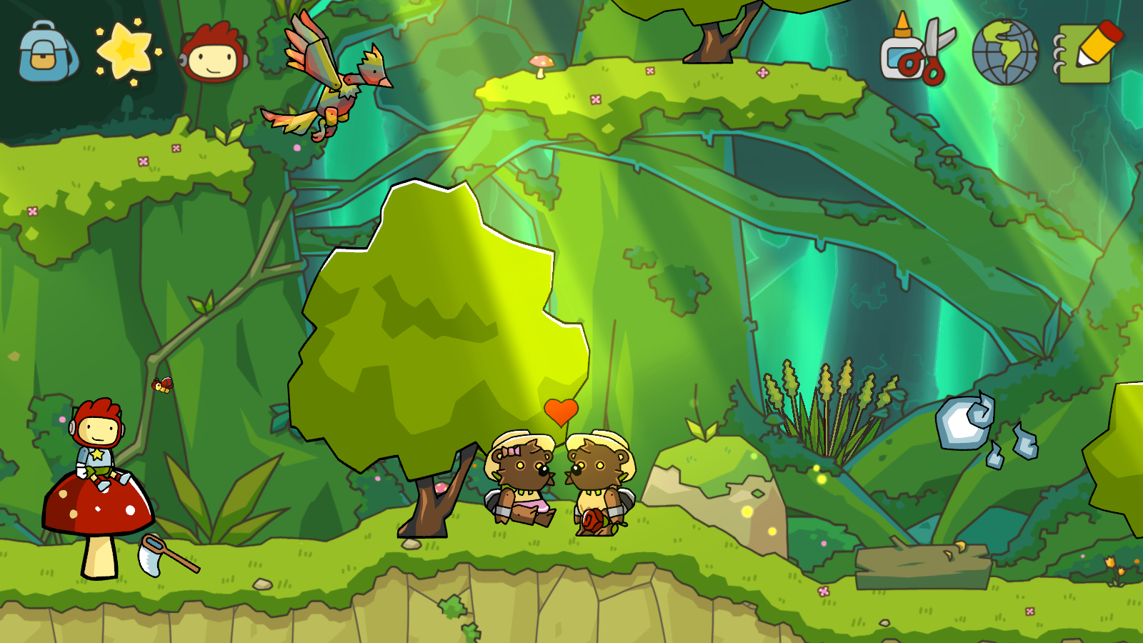 Review: Scribblenauts Unlimited (Wii U) - Digitally Downloaded