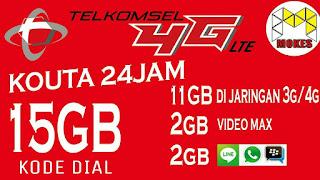 Cara Beli Paket Internet Telkomsel 15 GB Cuma 20 Ribu