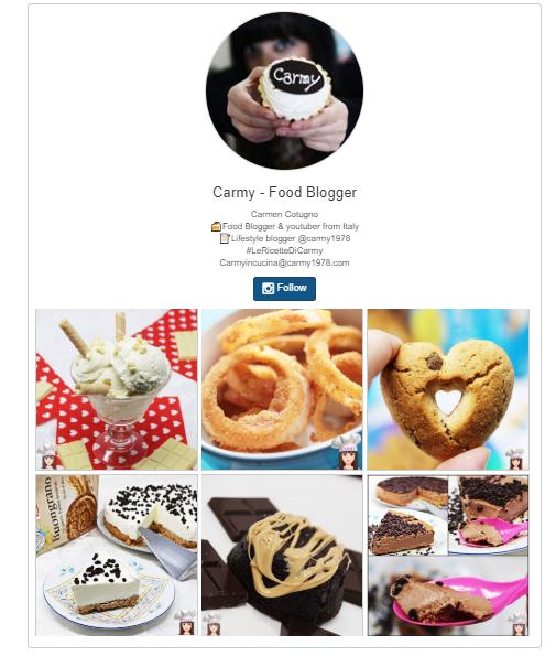 instagram food blog