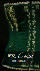 http://mistress-of-disguise.blogspot.com/2018/06/1872-green-embroidered-corset.html