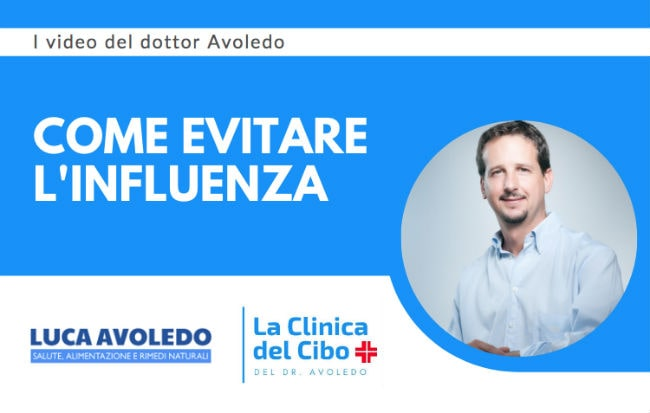 Un video di Luca Avoledo sui rimedi naturali contro l'influenza
