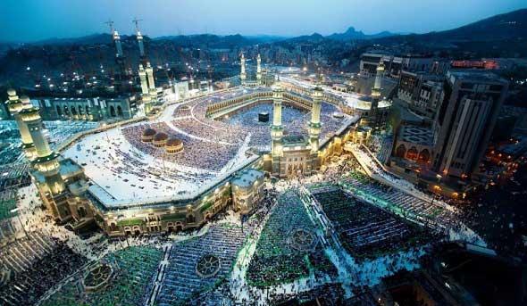 Suasana Kabah, Masjidil Haram