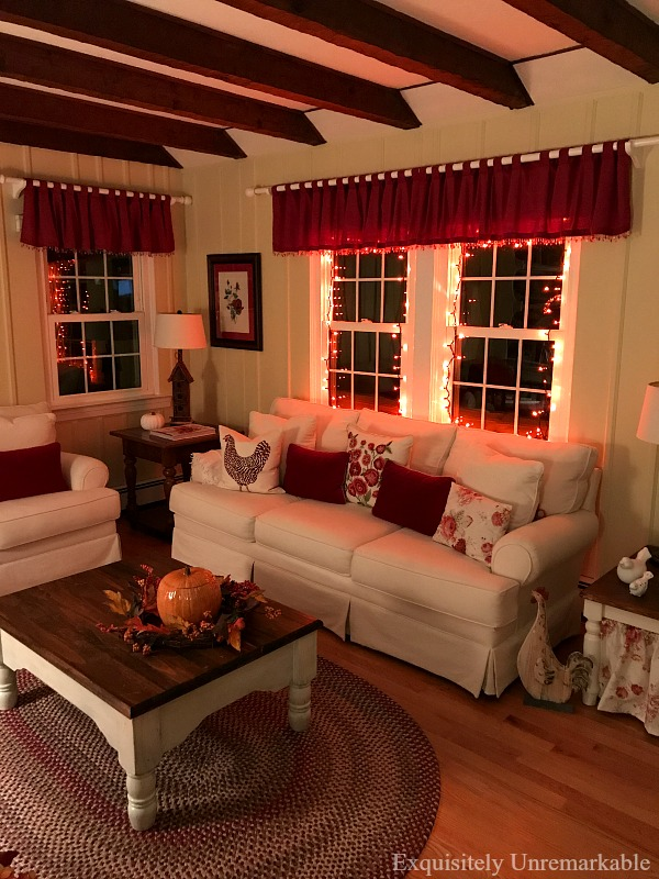 Fall Cottage Style Decor For Halloween