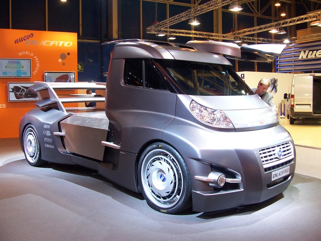 blingma rappellons nous fiat ducato truckster concept 2006. Black Bedroom Furniture Sets. Home Design Ideas