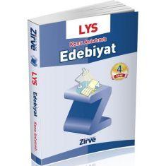 Zirve Dergisi LYS Edebiyat Konu Anlatımlı 4 Kitap