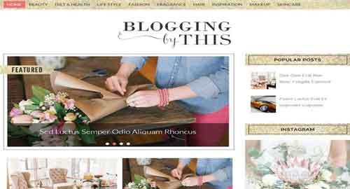 Blogging Blogger Template