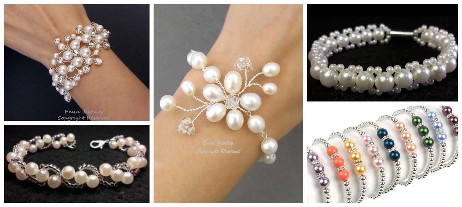 c5686f132129 Aprende cómo hacer una hermosa pulsera de perlas paso a paso ...