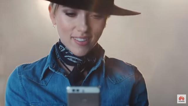 Canzone e modella Pubblicità Huawei Ascend P9 | Musica spot P9 con Scarlett