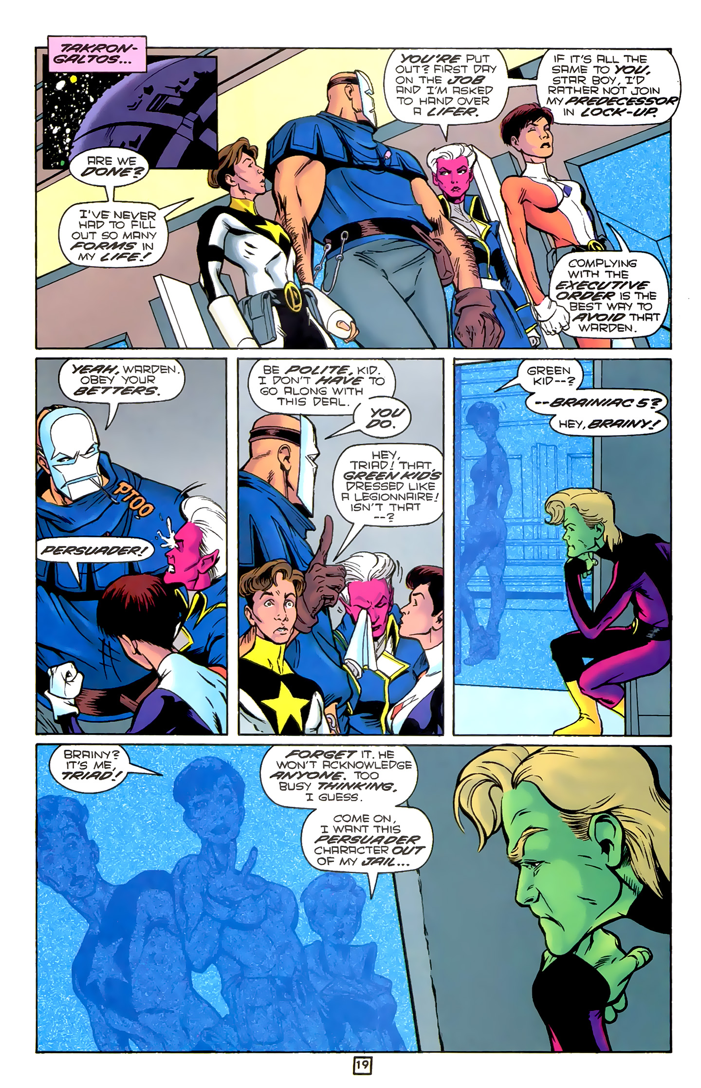 Legion of Super-Heroes (1989) 78 Page 19