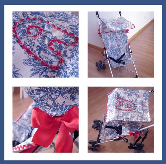 Niña bonita en una silla roja